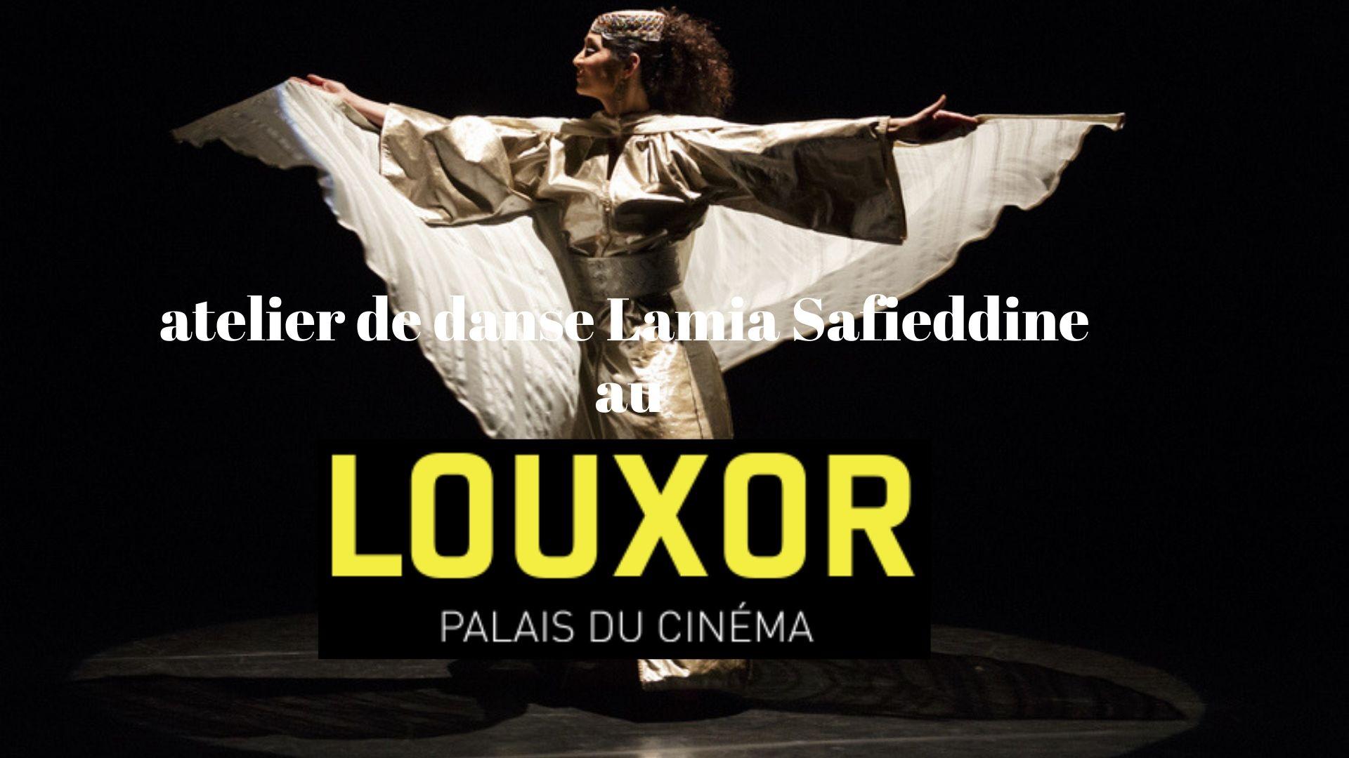 atelier de danse arabe contemporaine par Lamia Safieddine au cinéma Louxor